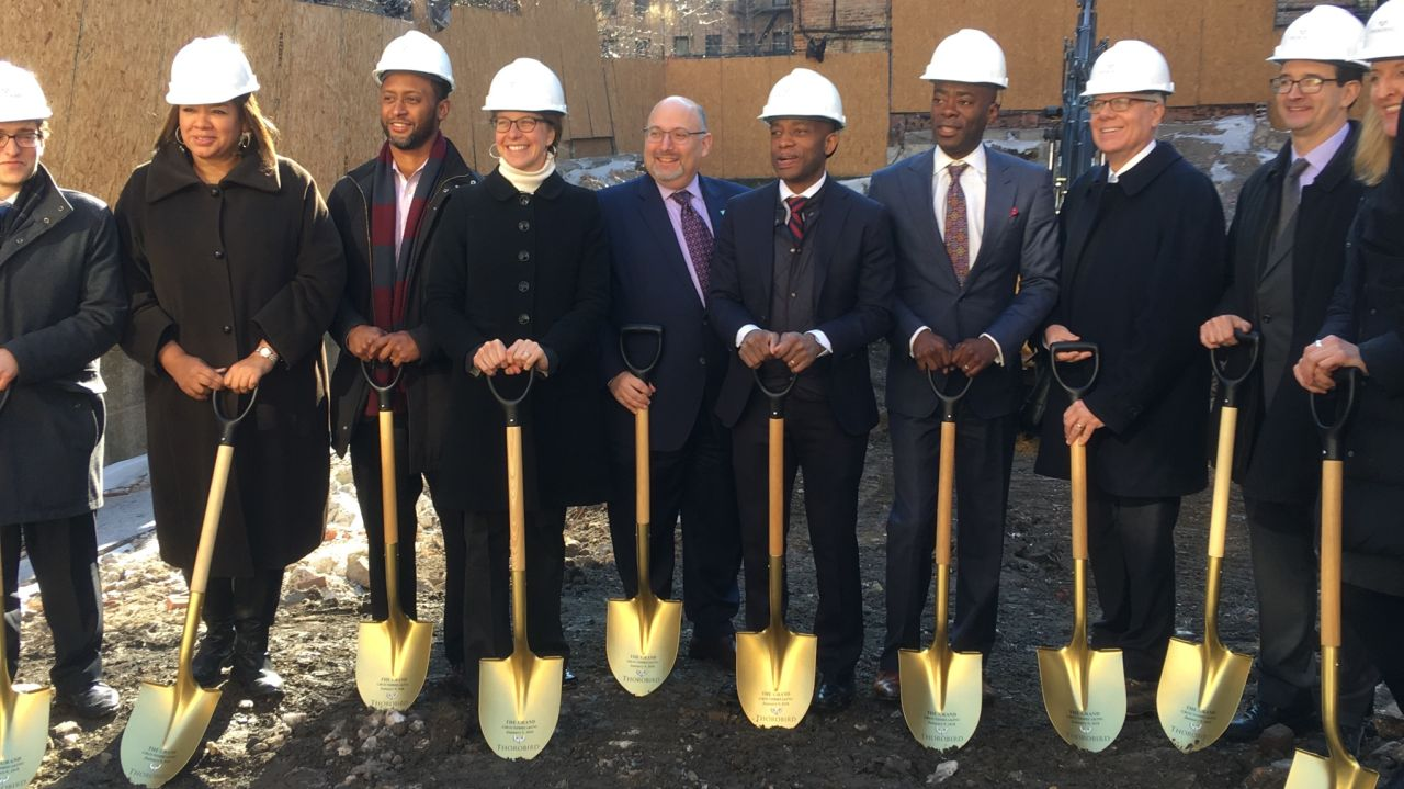 thorobird - the grand - groundbreaking in the bronx